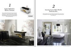 """The free e-Book """"100 Must-See Luxury Bathroom Ideas"""" is a great selection of the most incredible decor ideas for your inspiration with projects and pieces by the best brands in this industry. Page by page, this e-Book presents projects and pieces by great names and brands which certainly will be helpful in your next home decor. Download it and get inspired! ➤To see more Luxury Bathroom ideas visit us at www.luxurybathrooms.eu #luxurybathrooms #homedecorideas #bathroomideas @BathroomsLuxury"""