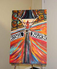 original painting   New Orleans Art - Louisiana Life, Angel Turner Dyke