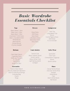 The Ultimate Guide To Discovering Your Signature Style. 50 Wardrobe Essentials Shopping Tips Fashion Workbook