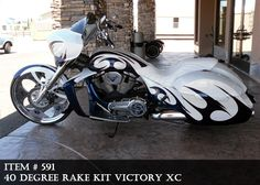 victory cross country tour custom paint - Google Search