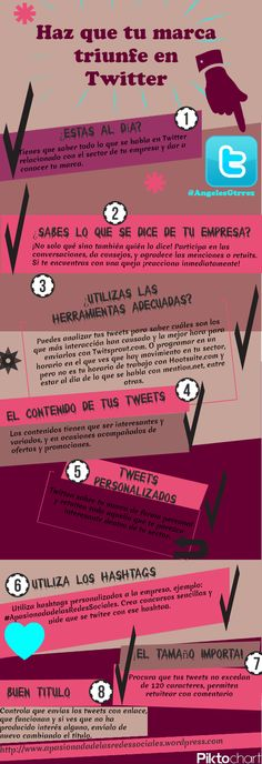 Haz que tu marca triunfe en Twitter What Is Twitter, Twitter Help, Social Media Marketing, Internet Marketing, Digital Marketing, Marca Personal, Personal Branding, Web 2.0, Social Business