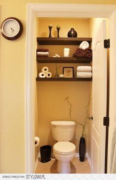 Deco wc - 12 superb ideas for toilet decoration! - Deco wc – 12 superb ideas for toilet decoration! Bad Inspiration, Bathroom Inspiration, Bathroom Ideas, Bathroom Renovations, Simple Bathroom, Bathroom Designs, Toilet Closet, Small Toilet Room, Toilette Design