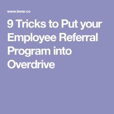 75 Catchy Employee Referral Program Slogans | Catchy ...