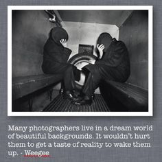 WeeGee Quote Photo