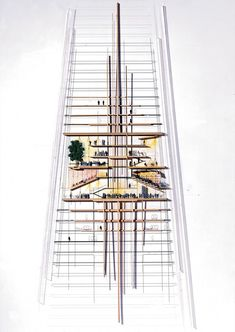 The Shard / Renzo Piano Renzo Piano, London Architecture, Architecture Drawings, Architecture Design, The Shard London, Architectural Section, Architectural Sketches, London Skyline, 3d Max