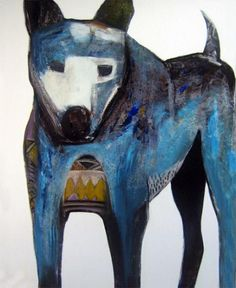Blue Dog by John Giese