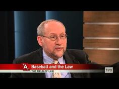 Some see America as a very litigious society. It's favorite past-time, baseball, is a rule-laden sport. According to Albany Law School professor Paul Finkelman, this not a coincidence. He sits down with Steve Paikin to discuss the connection between baseball and the law.