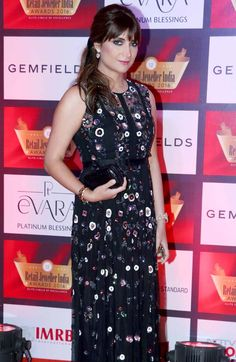 Michelle Poonawalla at Retail Jeweller India Awards. #Page3 #Fashion #Style #Beauty #Hot #Sexy Ileana D'cruz, Celebs, Celebrities, Cool Style, Bollywood, Awards, Retail, India, Hot