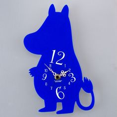Kewpie dolls - Happy Collection: [Moomin] silhouette clock / Moomin - Purchase now to accumulate reedemable points! Moomin Valley, Silhouette Portrait, Kewpie, Kato, Clock, Animation, Japan, Dolls, Christmas Ornaments