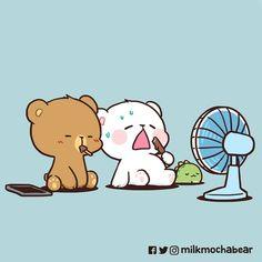 Cute Love Gif, Cute Love Pictures, Cute Images, Chibi Cat, Cute Chibi, Dolly Parton, Mocha, Bear Gif, Cute Bear Drawings