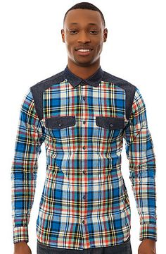 The Load Buttondown in Blue Watch by Supremebeing
