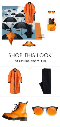 """""""#117"""" by ollie77761 ❤ liked on Polyvore featuring Canvas by Lands' End, Dr. Martens, LULUS and Hermès"""