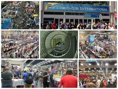 Attendees enjoying the sights and sounds of #SDCC in sunny San Diego! Photos from Comic-Con 2014!  #Freeman #tradeshow #event #ComicCon #ComicCon2014