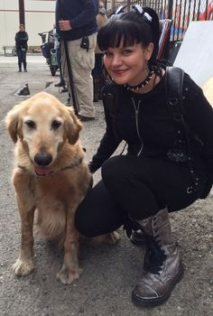 'NCIS' Season 11 Spoilers: Pauley Perrette Posts Twitter Photo With 'Cute' New Co-star [VIDEO]