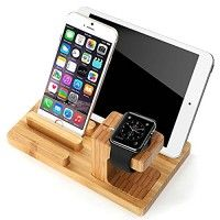 Aoneitem Apple Charging Station,Charge Dock Holder for Apple Watch & Docking Station Cradle Bracket for Iphone Ipad & Other Phones Tablets(Charging Station For iWatch/iPad&iPhone) Apple Watch Stand, Bamboo Wood Charge Dock Holder for Apple Watch & Docking Station Cradle Bracket for iPod iPhone iPad & Other Phones Read more http://themarketplacespot.com/wearable-technology/aoneitem-apple-charging-stationcharge-dock-holder-for-apple-watch-docking-station-cradle-bracket-for-i
