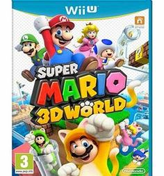 Nintendo Super Mario 3D World on Nintendo Wii U Four Players   Three Dimensions = Super Mario FunWork together with your friends or compete for the crown in the first multiplayer 3D Mario game for the Wii U console. In the Super Mario 3D World game http://www.comparestoreprices.co.uk/nintendo-wii-games/nintendo-super-mario-3d-world-on-nintendo-wii-u.asp