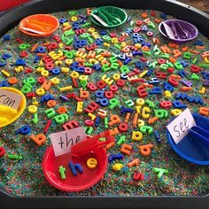 ideas for weight activities eyfs sensory play Play Based Learning, Home Learning, Learning Through Play, Preschool Learning, Fun Learning, Early Learning, Learning By Playing, Teaching Kindergarten, Eyfs Areas Of Learning
