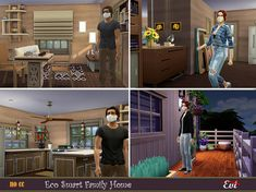 MY SIMS AND COVID-19 👨👨👧👦 See You Around, Home Id, My Building, Cute House, Sims Community, Sims Resource, Sims House, My Sims, Electronic Art