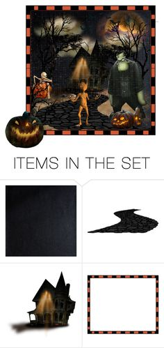 """Happy Halloween Everyone"" by barebear1965 ❤ liked on Polyvore featuring art"