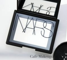 Nars Light Reflecting Pressed Setting Powder in Translucent Crystal - Café Makeup. KG note - this is amazing and well worth the money.
