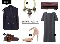 Simple with ornate accessories