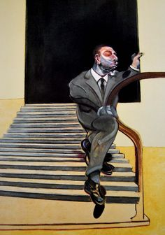 Contemporary Art Blog | Francis Bacon, Retrato de un hombre bajando una...