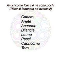 Aquarius, Pisces, Taurus, Doomsday Clock, Italian Humor, My Favorite Image, Vignettes, Horoscope, Zodiac Signs