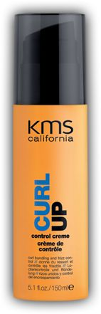 KMS Curl Up, Control Creme.  Thick/coarse hair.  Best on dry to very dry hair.  Pliable shine, defines curls/waves.