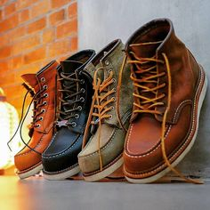 """bef185b772 Men s Fashion on Instagram  """"Red Wing Heritage Classic Moc Boots by   chefwidhi  menboots  menboots  menboots  redwingboots  redwingshoes  1907   8139  9874 ..."""