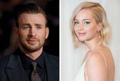 Chris Evans e Jennifer Lawrence estariam namorando, segundo site >> http://glo.bo/1RAb6bv