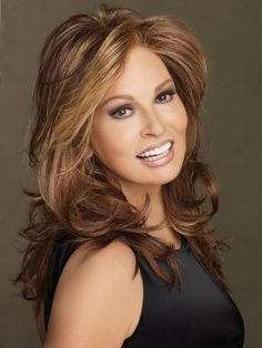Learn how Raquel Welch lace front wigs make you beautiful. Raquel Welch lace front wig is the oportunity to create any style you want. Rachel Welch, Curly Wigs, Human Hair Wigs, Raquel Welch Wigs, Ombré Hair, Lady Hair, Long Wigs, Long Curly, Synthetic Wigs