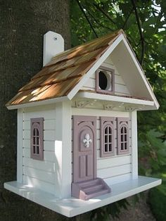 Whimsical Bird Houses, Novelty Bird Houses, Unusual and Unique Birdhouses at ...  songbirdgarden.com