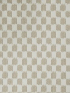 Ikat check pattern 02604 in Oatmeal from the Jaclyn Smith Home - Volume III collection for Trend.