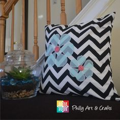 Throw Pillow Cover Chevron Design Pillow Cushion Cover Decorative Pillow Cover - Choose your Size and Fabric Color