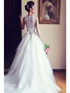 A-line wedding dresses,wedding dress 2016 #simibridal