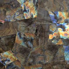 Polished Far Eastern Labradorite feldspar mineral floor and wall tiles and slabs