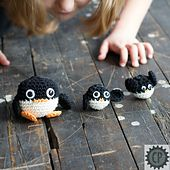 Ravelry: Mrs. Graham's Penguins pattern by Beth Graham Great for students to explore amigurumi!