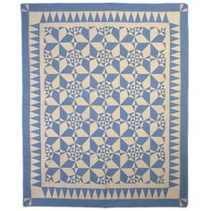 'Spiderweb quilt' | Pennsylvania, United States, circa 1920's | Material: cotton