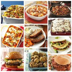 Recipes with Ground Beef from Taste of Home. What's for dinner tonight? How about casseroles, chili, lasagna, meat loaf and more recipes made with the ultimate supper staple—ground beef.