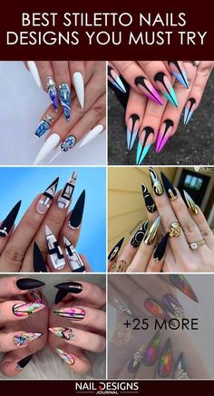 Nail Designs simple and elegant, minimalist nail art is easy to replicate for women of every age. Angela Jones, Colored Acrylic Nails, Acrylic Nail Art, Minimalist Nails, New Nail Art, Cool Nail Art, Nail Art Hacks, Pointy Nails, 3d Nails