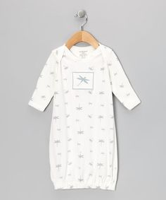 Take a look at this White Dragonfly Organic Gown - Infant by Sage Creek Organics on #zulily today!