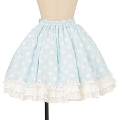 Angelic pretty アンジェリックプリティ ($81) ❤ liked on Polyvore featuring skirts