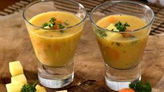 Basic soups and stews to deacidify - Basic potato soup with almonds - Fruit Smoothies, Healthy Smoothies, Smoothie Recipes, Healthy Sandwiches, Tea Sandwiches, Healthy Potato Recipes, Detox Soup, Potato Soup, Smoothie Bowl
