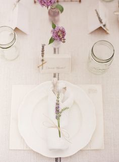 Photography : KT Merry Photography | Decor + Design : Dreamy Whites Read More on SMP: http://www.stylemepretty.com/2011/08/16/lavender-inspiration-photo-shoot-by-kt-merry-dreamy-whites/