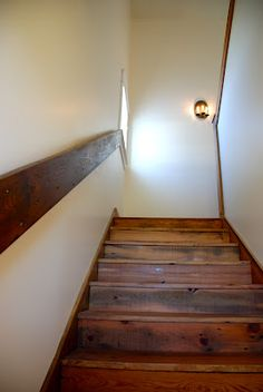 although VERY boring, this might be the best options for our 1929 stair case. could be made out of the same wood we are using for new treads?