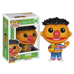 Sesame Street Ernie Pop! Vinyl Figure - Funko - Sesame Street - Pop! Vinyl Figures at Entertainment Earth