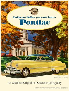 See The Autumn Colours In A New Pontiac