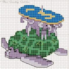 The Geeky Goblin: Discworld cross stitch pattern