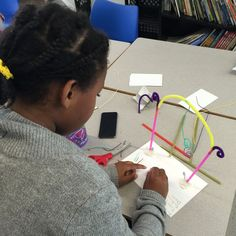 The students IDENTIFIED various aspects of the Washington Arch via Google Images and Childe Hassam's Washington Arch in Spring. Students SYNTESIZED their knowledge of the The Washington Arch in New York city in order to create a monument of their own. #StemtoSTEAM #PRISMK12 @Philllipscollection #InspiredTeachingPublicCharterSchool