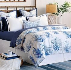 Azure Reef Luxury Bedding Collection | Nautical Luxuries